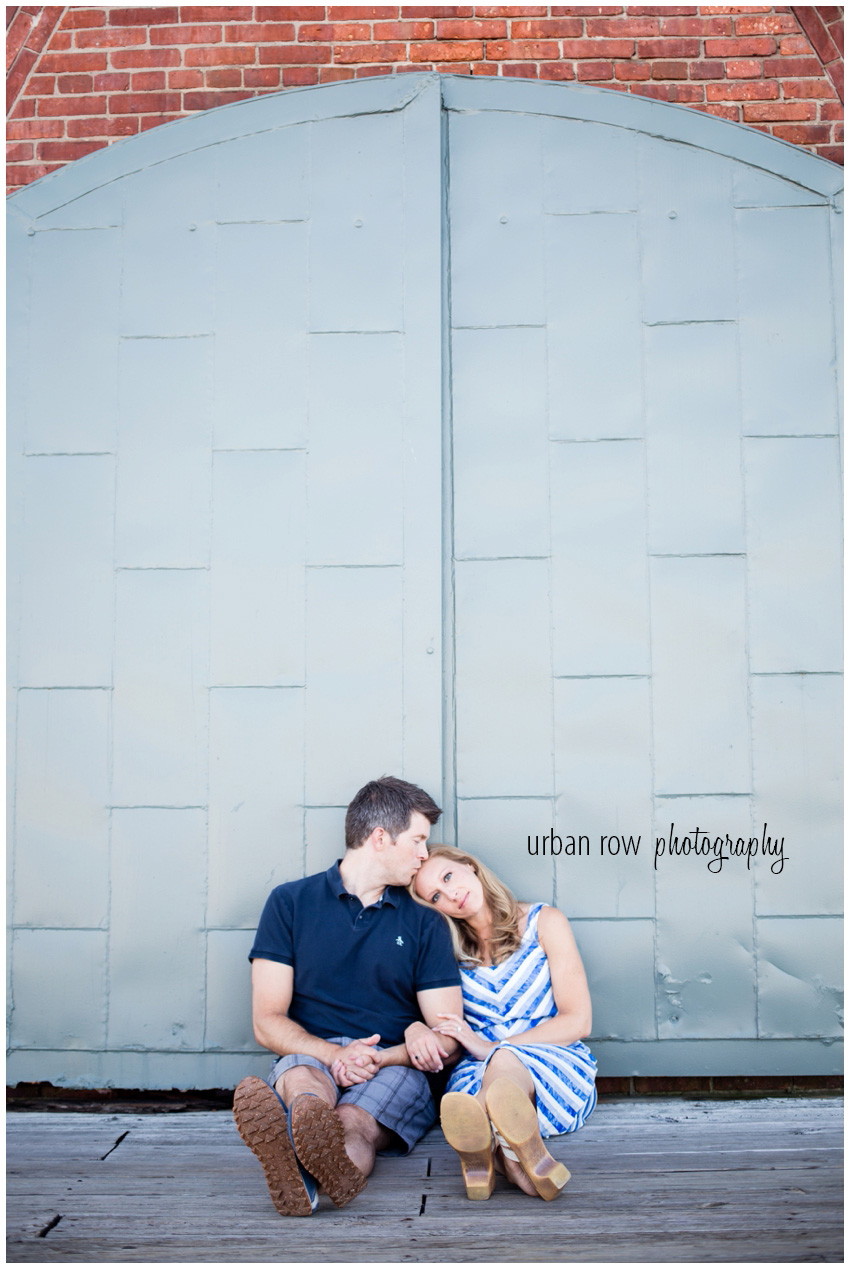 historic fells point hotel engagement session