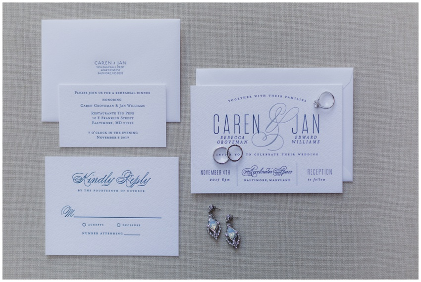 caren + jan wedding