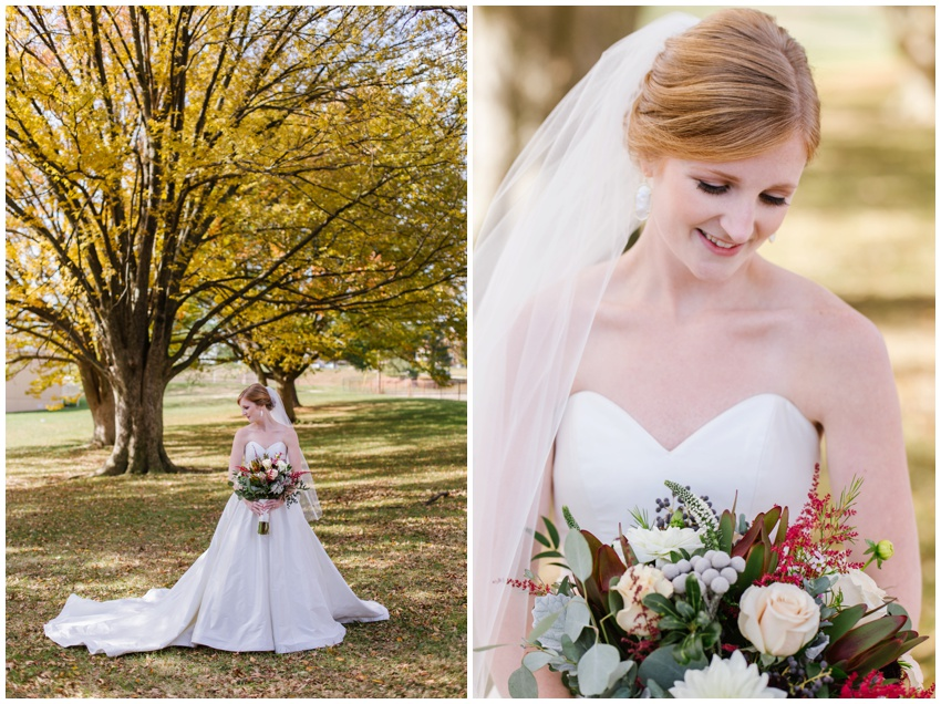 baltimore bride november wedding
