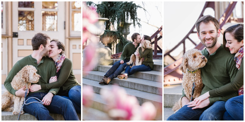 spring-pagoda-patterson-park-engagement-photos